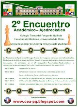 2º ENCUENTRO ACADEMICO AJEDRECISTICO