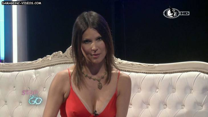 Argentina Celebrity Ursula Vargues great cleavage damageinc HD 720p