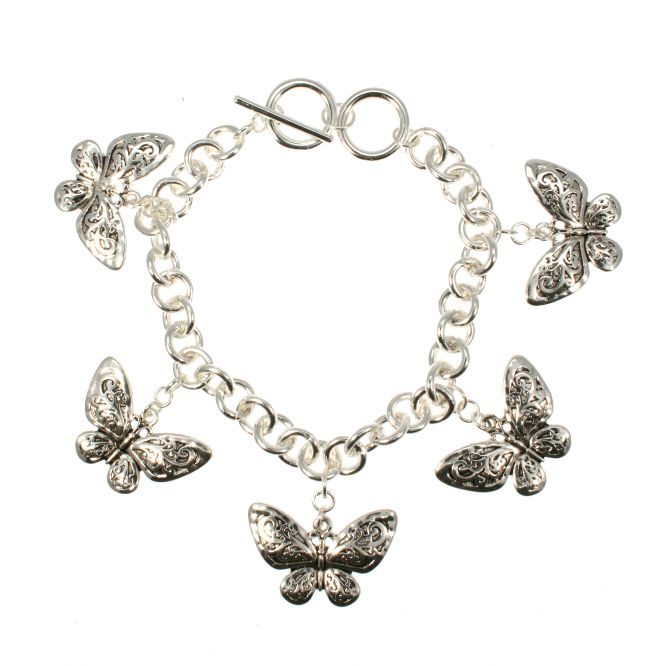 butterfly passion silver-butterfly-bra
