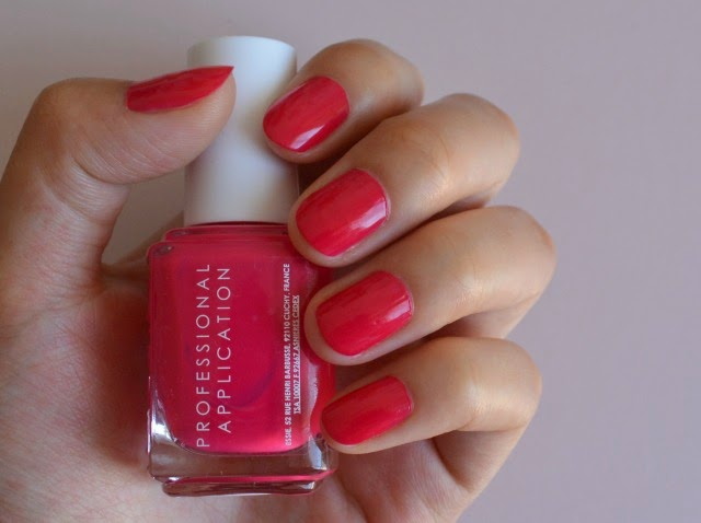 Essie watermelon nail polish