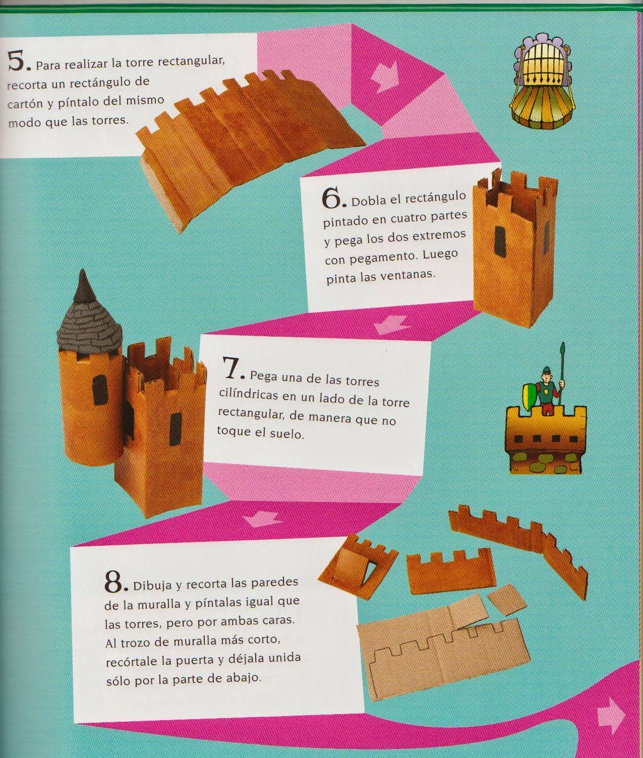 Kamy mateo - Manualidades castillo medieval ...