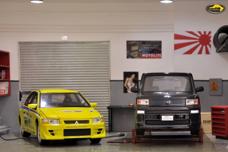 Bowerbird garage bowerbird garage diorama pinder for A 1 garage