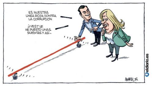 Las líneas rojas del PSOE
