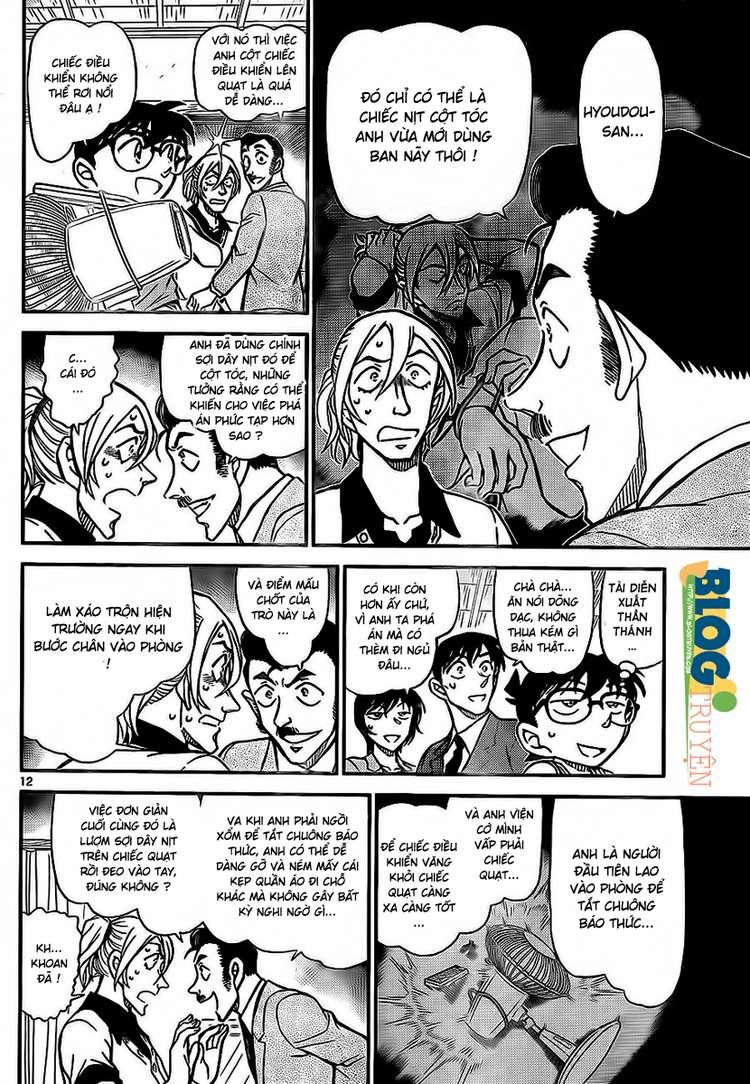 Detective Conan - Thám Tử Lừng Danh Conan chap 789 page 13 - IZTruyenTranh.com