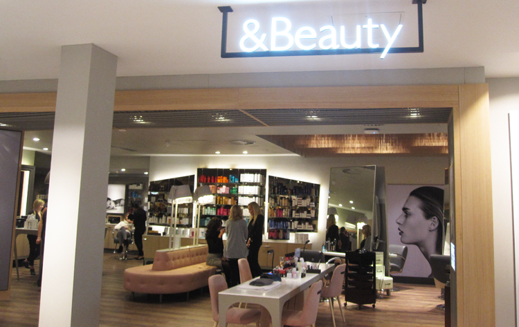 &Beauty Spa/Salon, John Lewis, Birmingham
