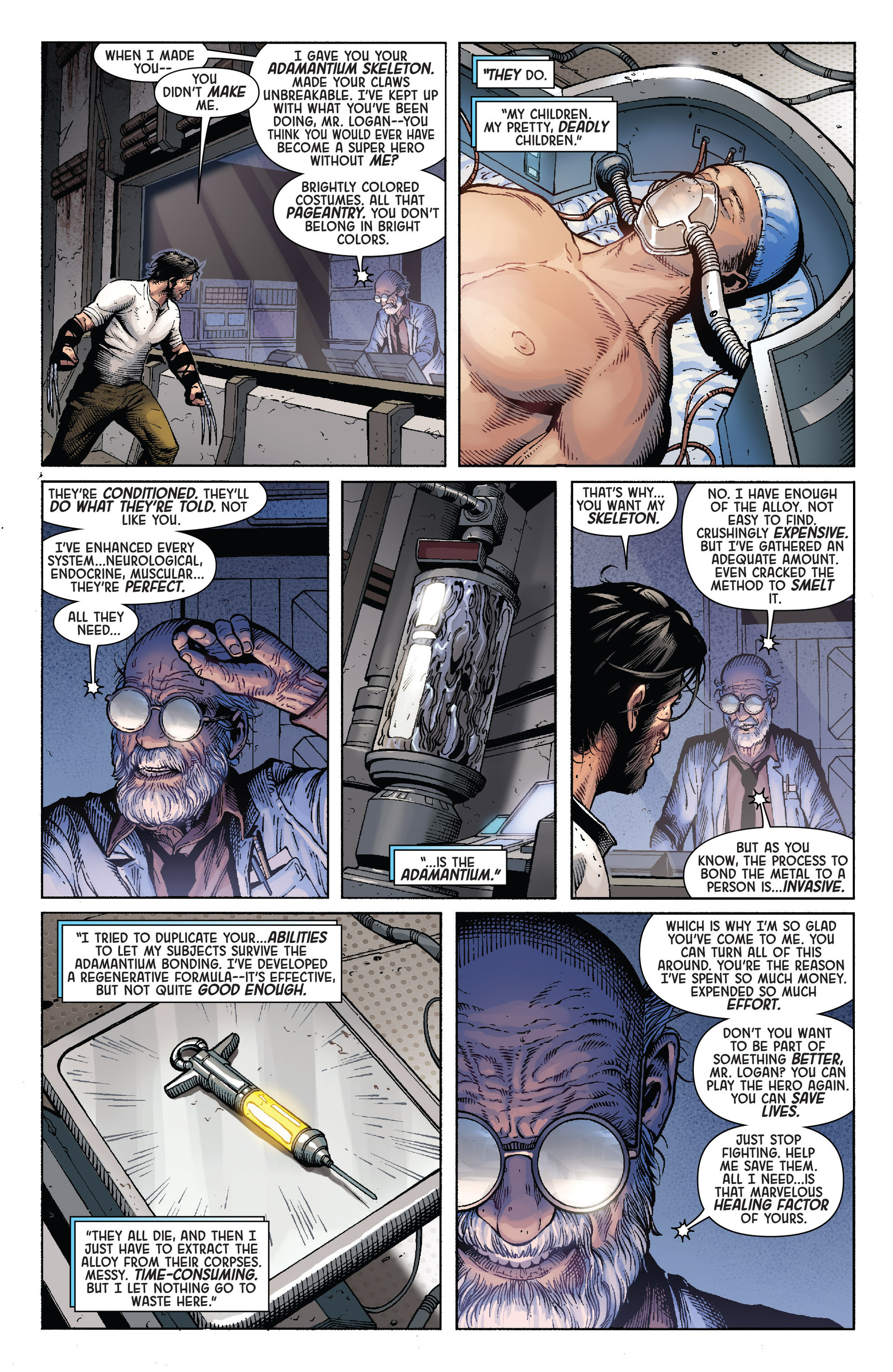 Death of Wolverine Issue #4 #4 - English 9