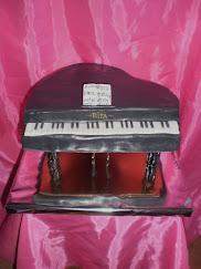 tarta de piano de cola
