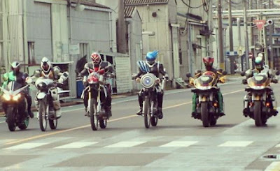 The Six Kamen Riders in Movie Wars ULTIMATUM - JEFusion