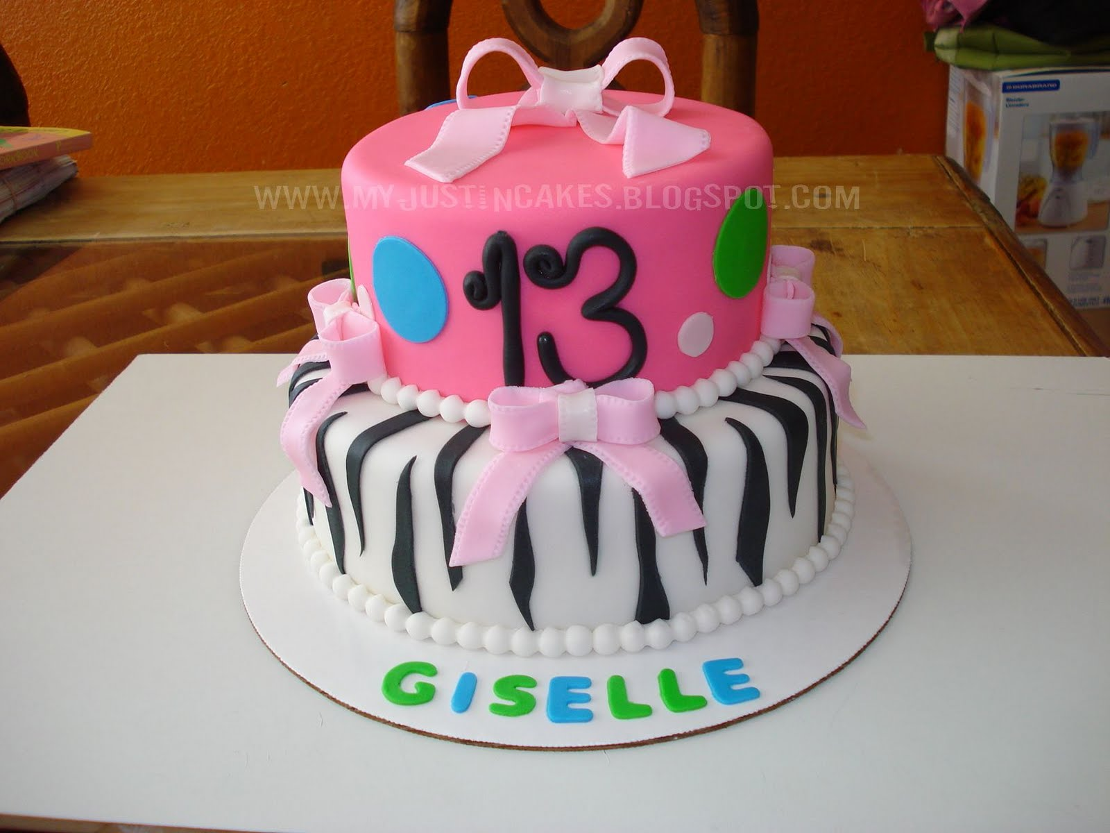 13 year old birthday cakes for girls
