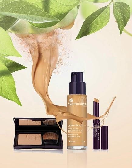 Novedades Yves Rocher Febrero 2015: línea de maquillaje Piel Perfecta 14 h
