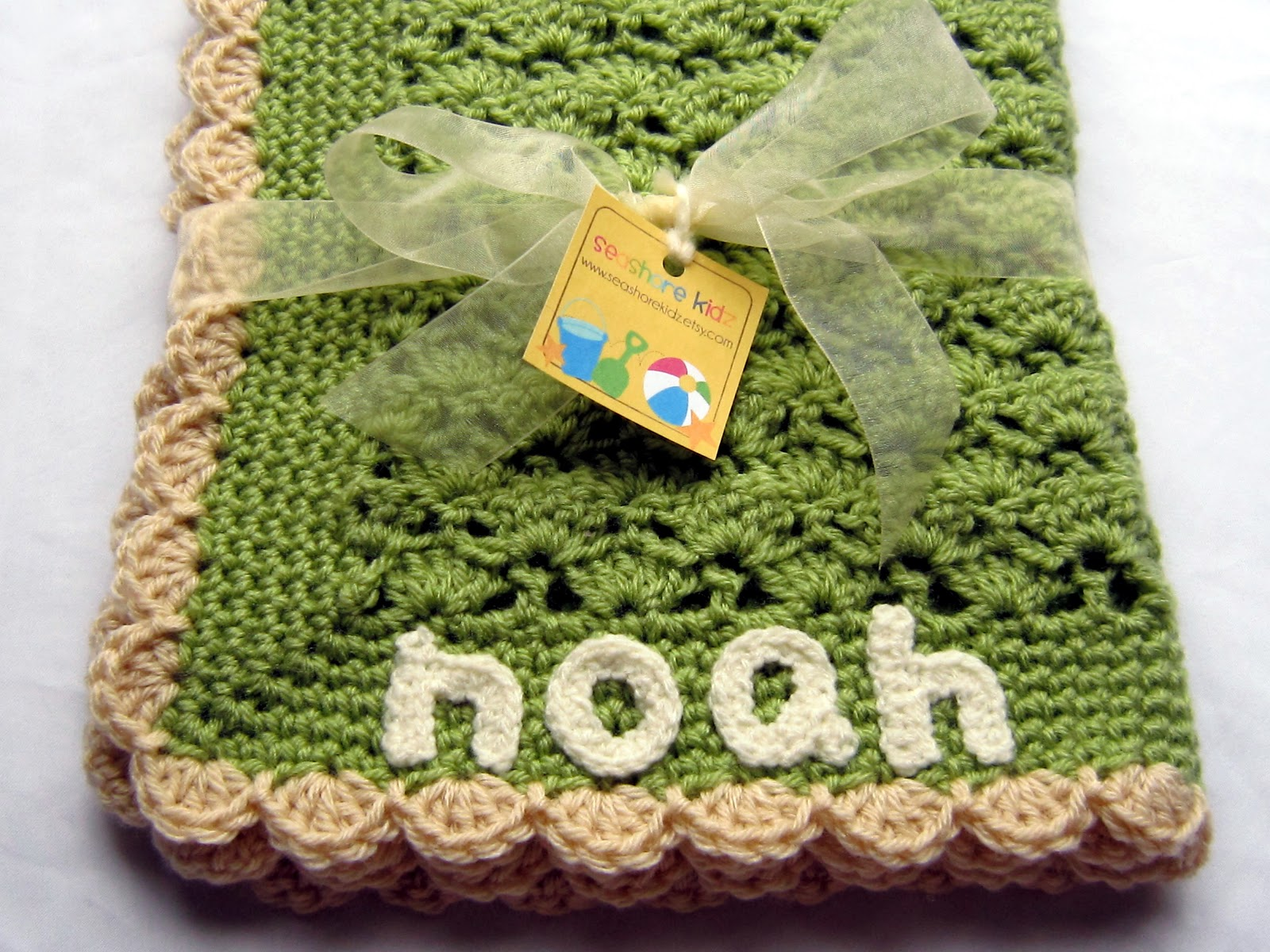 Crocheting Names On Blankets : With that said, Ill venture back into the baby crochet world for a ...