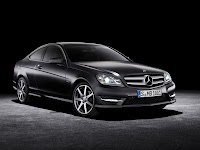 2011/2012 Mercedes C-Class Coupé (W 204) C 250 CDI Diesel official press media picture image photo