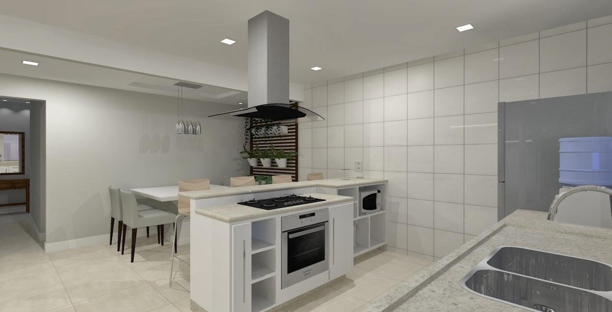 Salas E Cozinha Ambientes Integrados Seu Sonho Desenhado