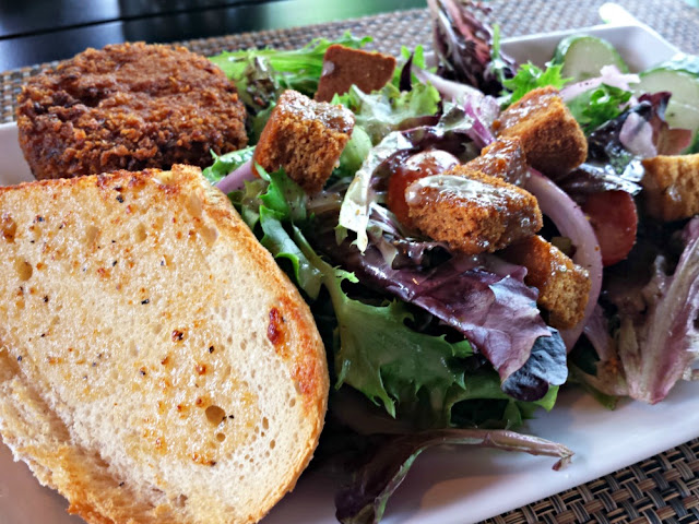 Lunch at Harvest Grill at Shelton Vineyards is a culinary experience.