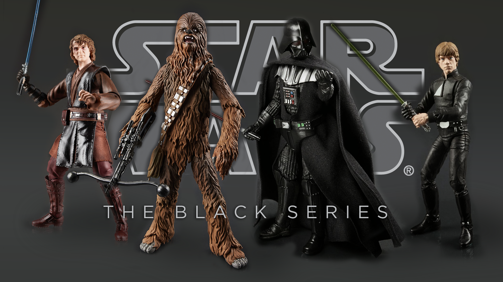 "The first-ever 6-inch scale Star Wars action figures! Bring home the ""next big thing"" in Star Wars with these Star Wars Black Series 6-Inch Action Figures. The sensational figures include accessories and are developed by Hasbro in conjunction with Lucasfilm and Gentle Giant to bring you the highest level of detail and authenticity at a price that can't be beat. Start your collection here and collect them all!  Luke Skywalker han Solo Stormtrooper Darth Maul r2-d2 Bespin Luke Boba Fett Greedo Slave Leia darth vader anakin jedi luke obi wan kenobi sandtrooper Han Solo Carbonite SDCC Exclusive Toyfair 2014 2013 2015 Episode VII Reveal Sneak PeekCustom Action Figures GeekSummit $19.99"