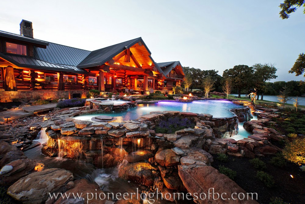 Rustic log cabins and interior timber kings gallery