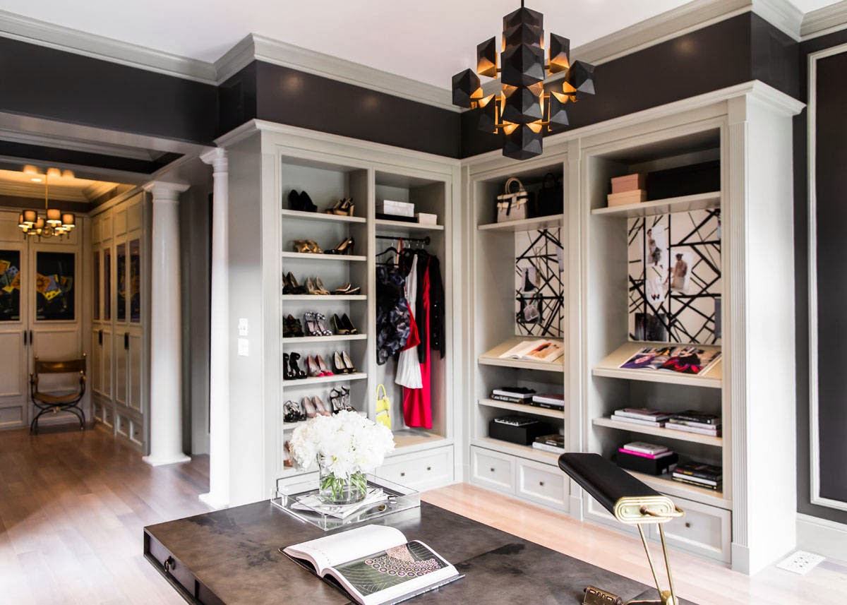 Diary of a classy lady elle decor closet office design for Inspired closets