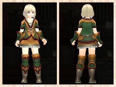 緑竜の衣 茶色2