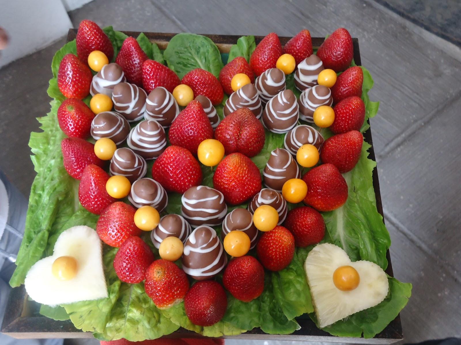 Dulce tentaci n for Decoracion de ensaladas