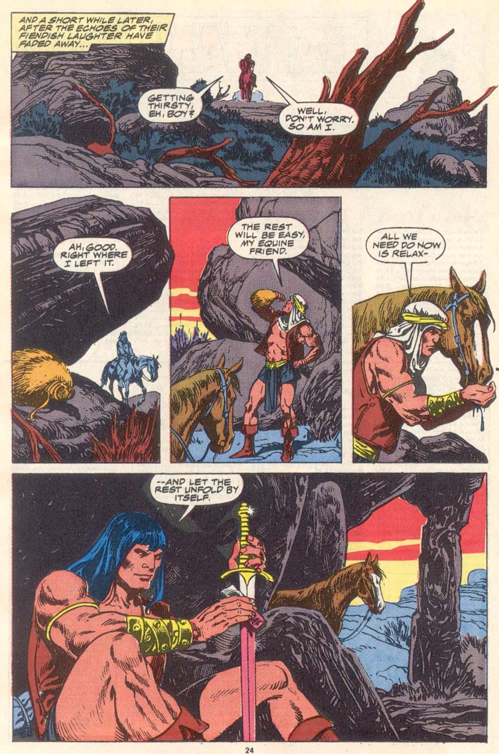 Conan the Barbarian (1970) Issue #223 #235 - English 19