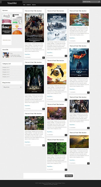 20 best free blogger gallery templates dream blog vasiliki is a responsive blogger template by bestthemes main features are dynamic grid layout auto read more and auto thumbnail maxwellsz
