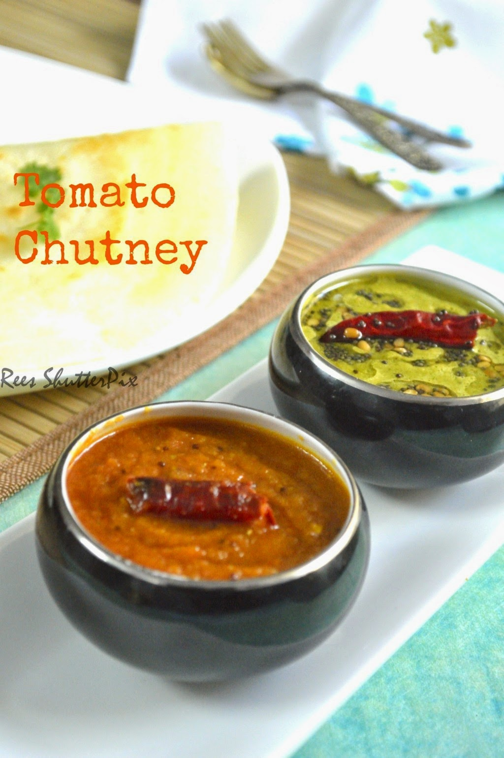 Tomato Chutney | Easy Chutney Recipes