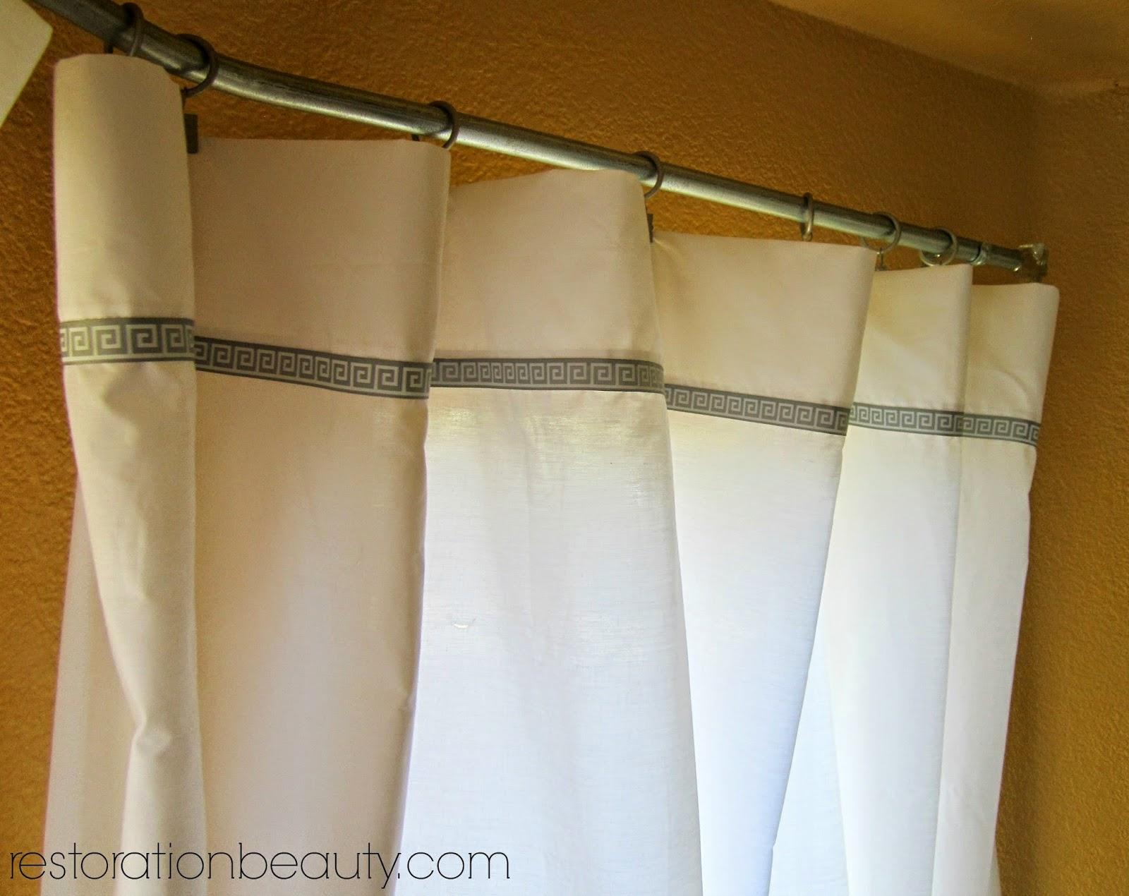 Restoration Beauty Conduit Pipe Bay Window Curtain Rod Bed