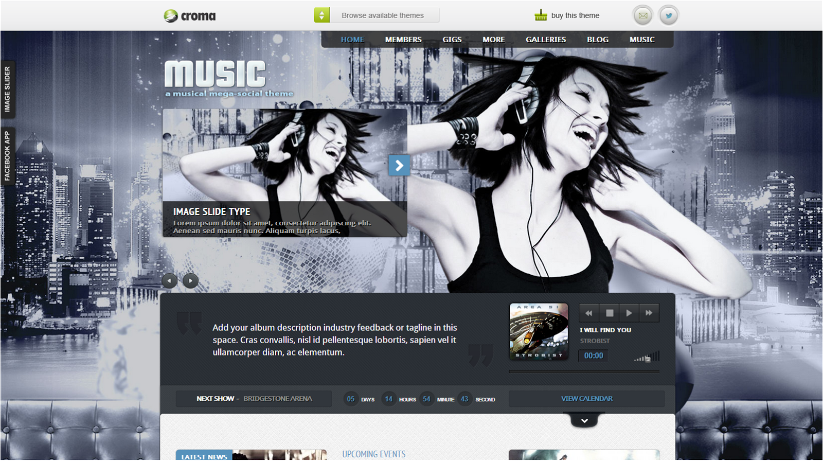 Top Best WordPress Music Themes 2013 | Top WordPress Themes 2013