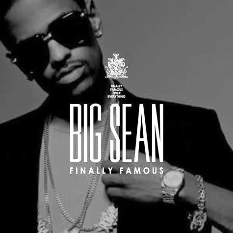big sean finally famous the album cover. Big Sean -Finally Famous (The