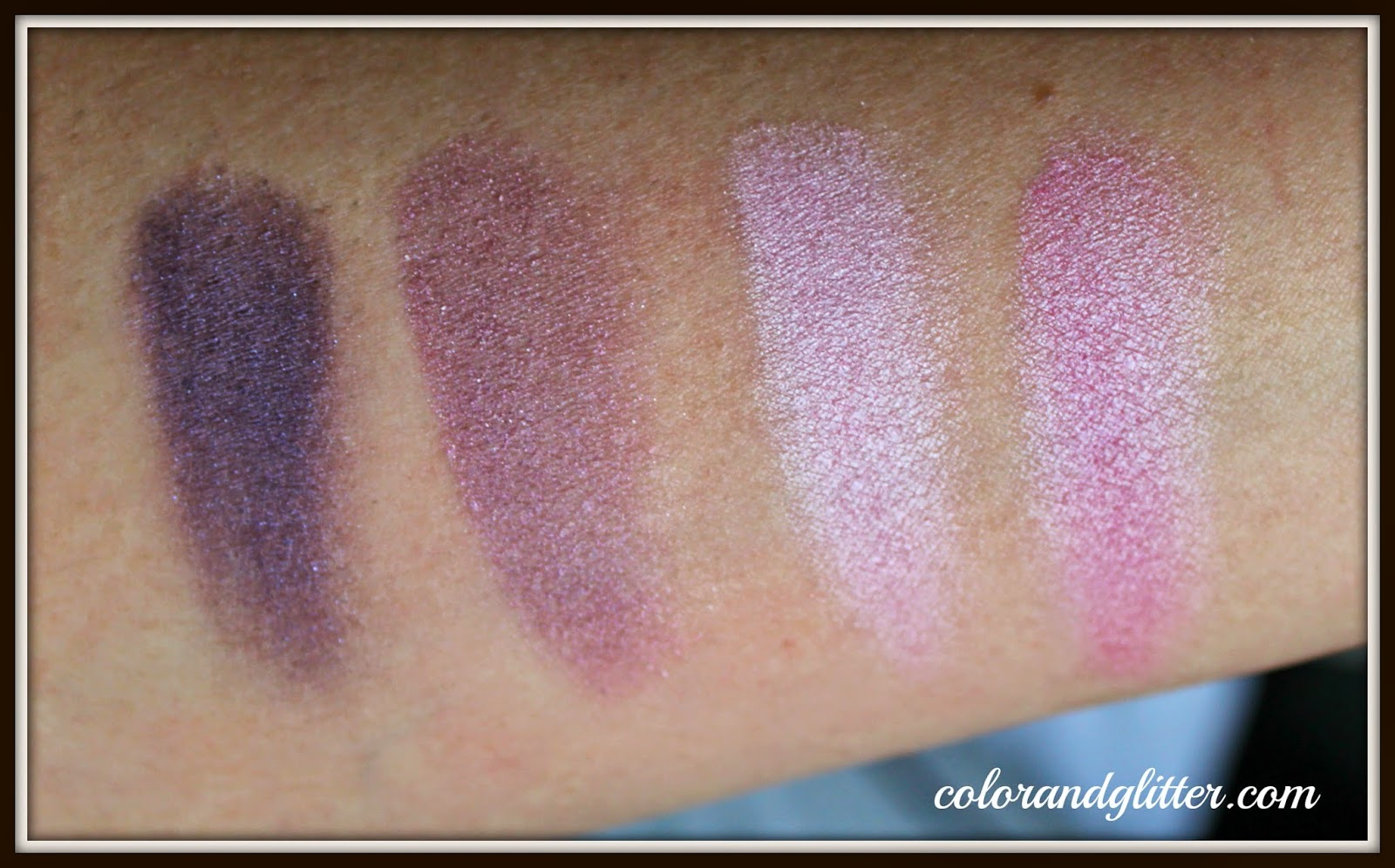 Covergirl Eye Enhancers 4-Kit Shadows in Blossoms || Review and Swatches