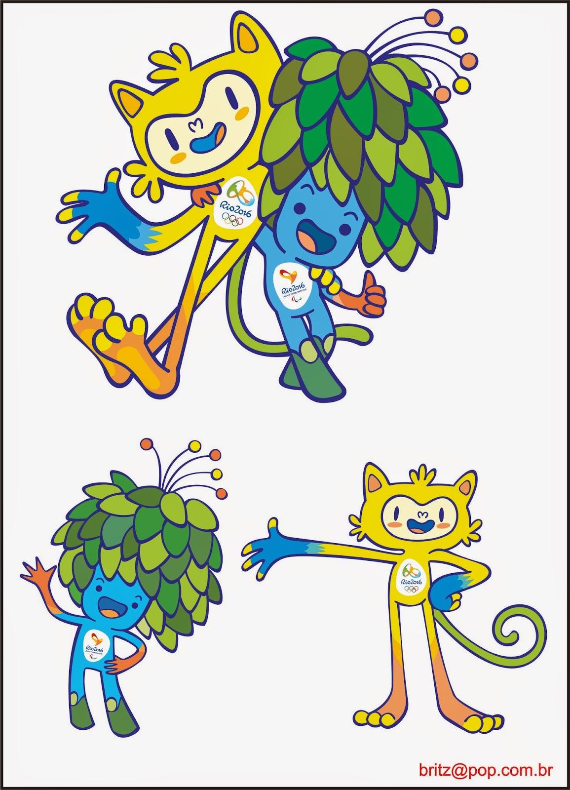 Mascotes-Rio 2016