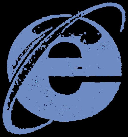 Internet Explorer・IE(ロゴマーク ... : エクスプローラ 印刷 : 印刷