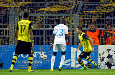 Video Dortmund vs Marseille 3-0 Hasil Liga Champions 2013
