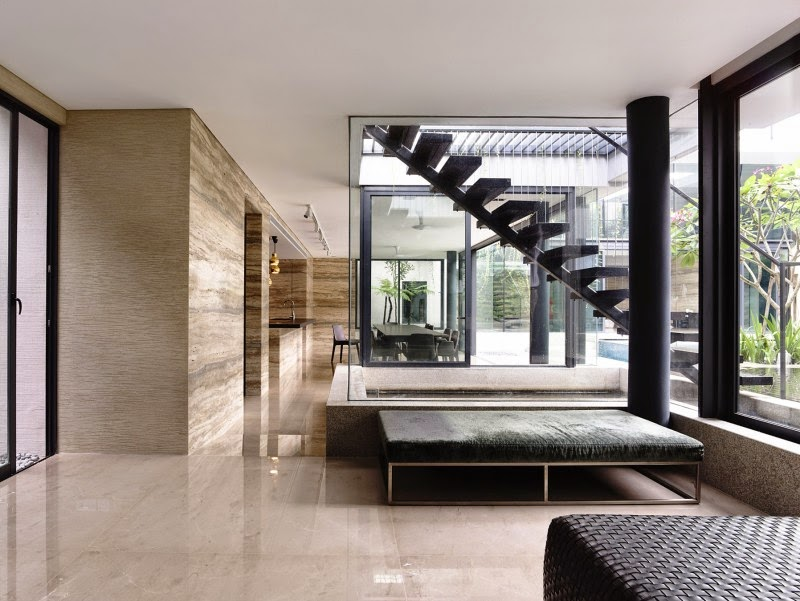 Singapore Contemporary House - interior design - lounge deisgn