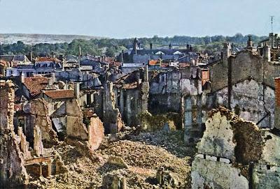 Fotografías a color de la Primera Guerra Mundial