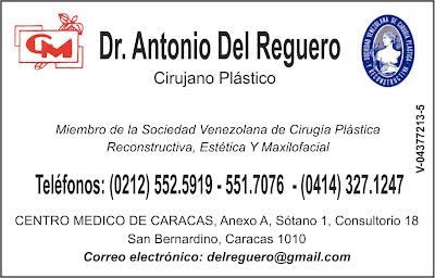 DR. ANTONIO DEL REGUERO en Paginas Amarillas tu guia Comercial