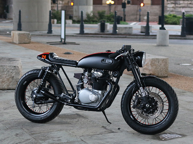cognito moto fox cb350 cafe racer return of the cafe racers. Black Bedroom Furniture Sets. Home Design Ideas