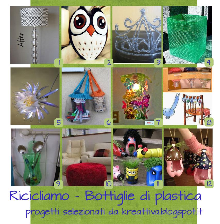 Super 25 progetti creativi per riciclare le bottiglie di plastica  VL06