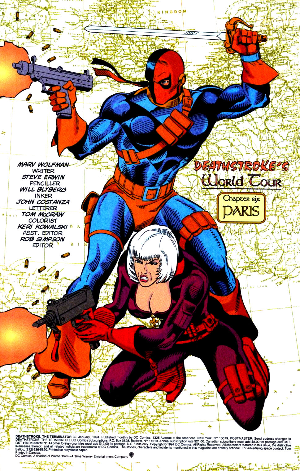 Deathstroke (1991) Issue #32 #37 - English 2