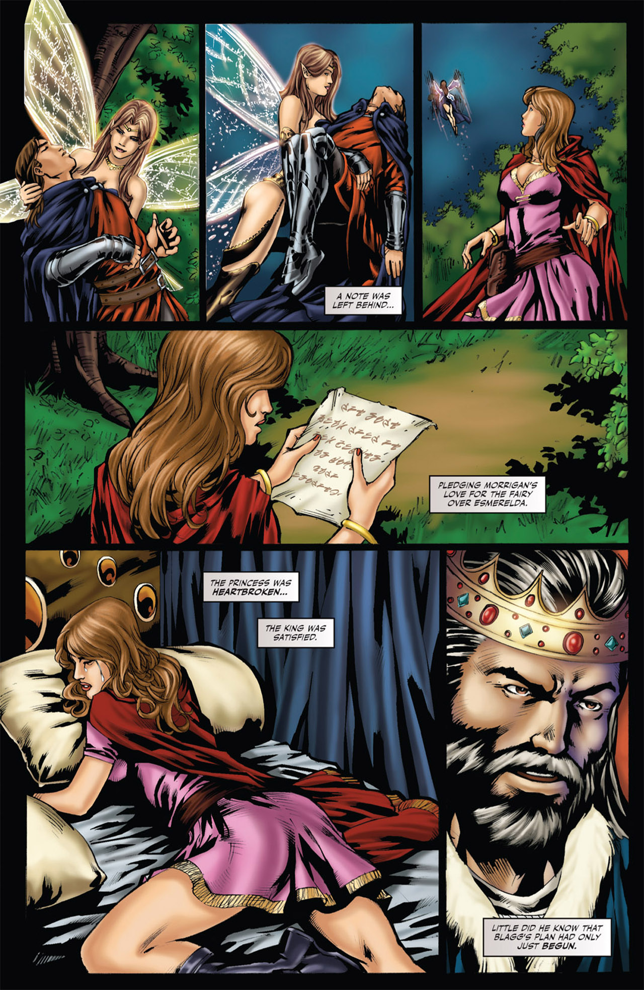 Grimm Fairy Tales (2005) Issue #53 #56 - English 12