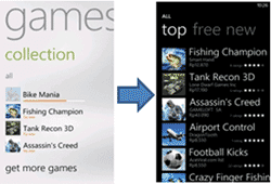 Windows Phone download games