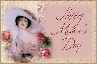 Cartão Dia da Mães - Vintage