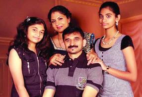 Asha Sarath Family