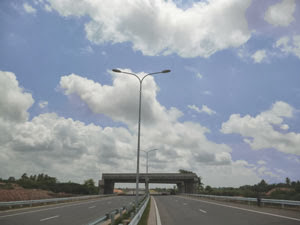 "Bridge of ""OCH""on Katunayake highway at kerawalapitiya"