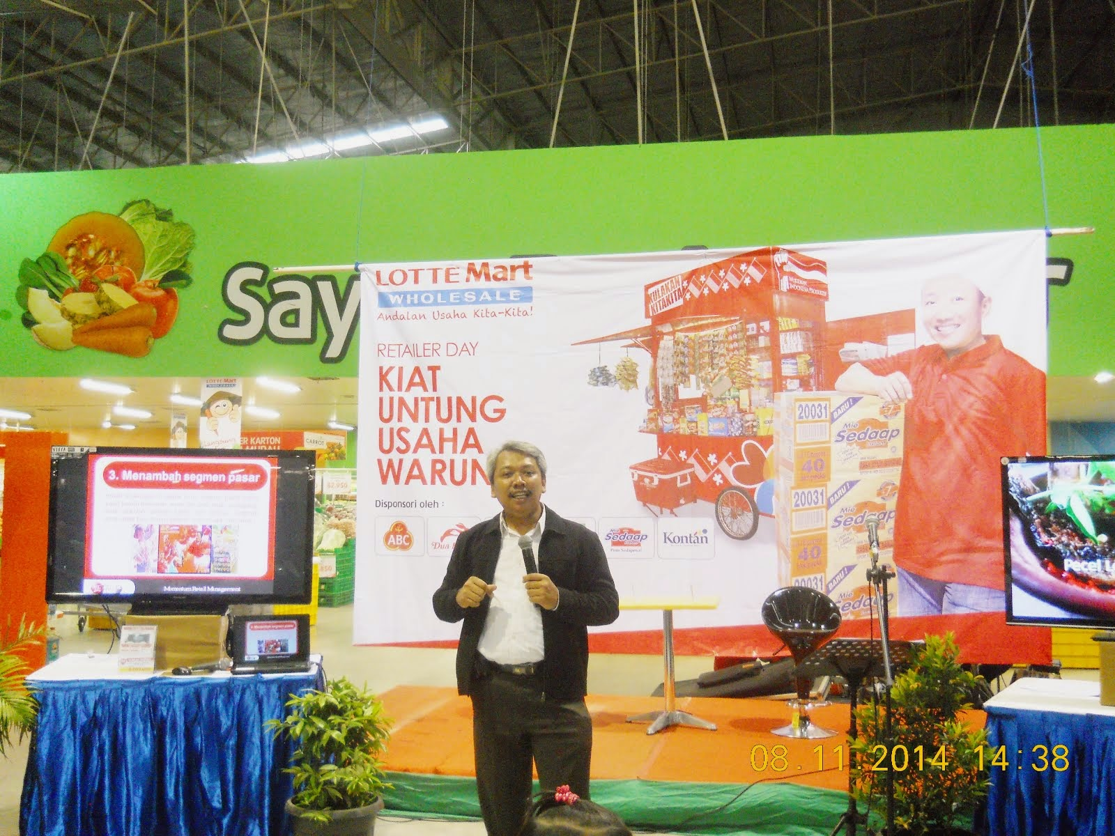 Memotivasi Retailer Seluruh Kota Bekasi @ LotteMart Bekasi