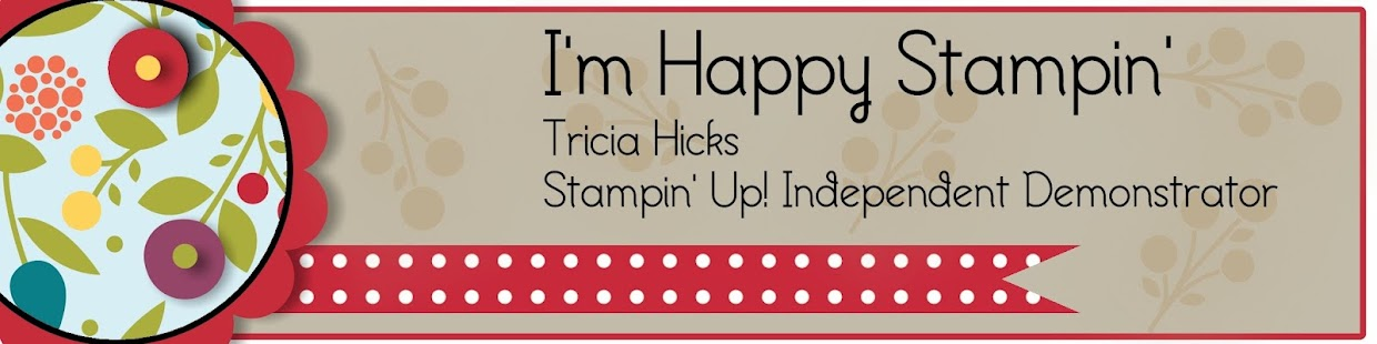 I'm Happy Stampin'