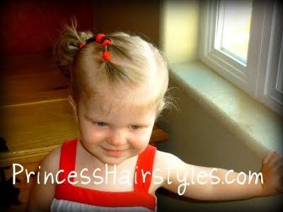 toddler hairstyles elastic braid pigtails  hairstyles