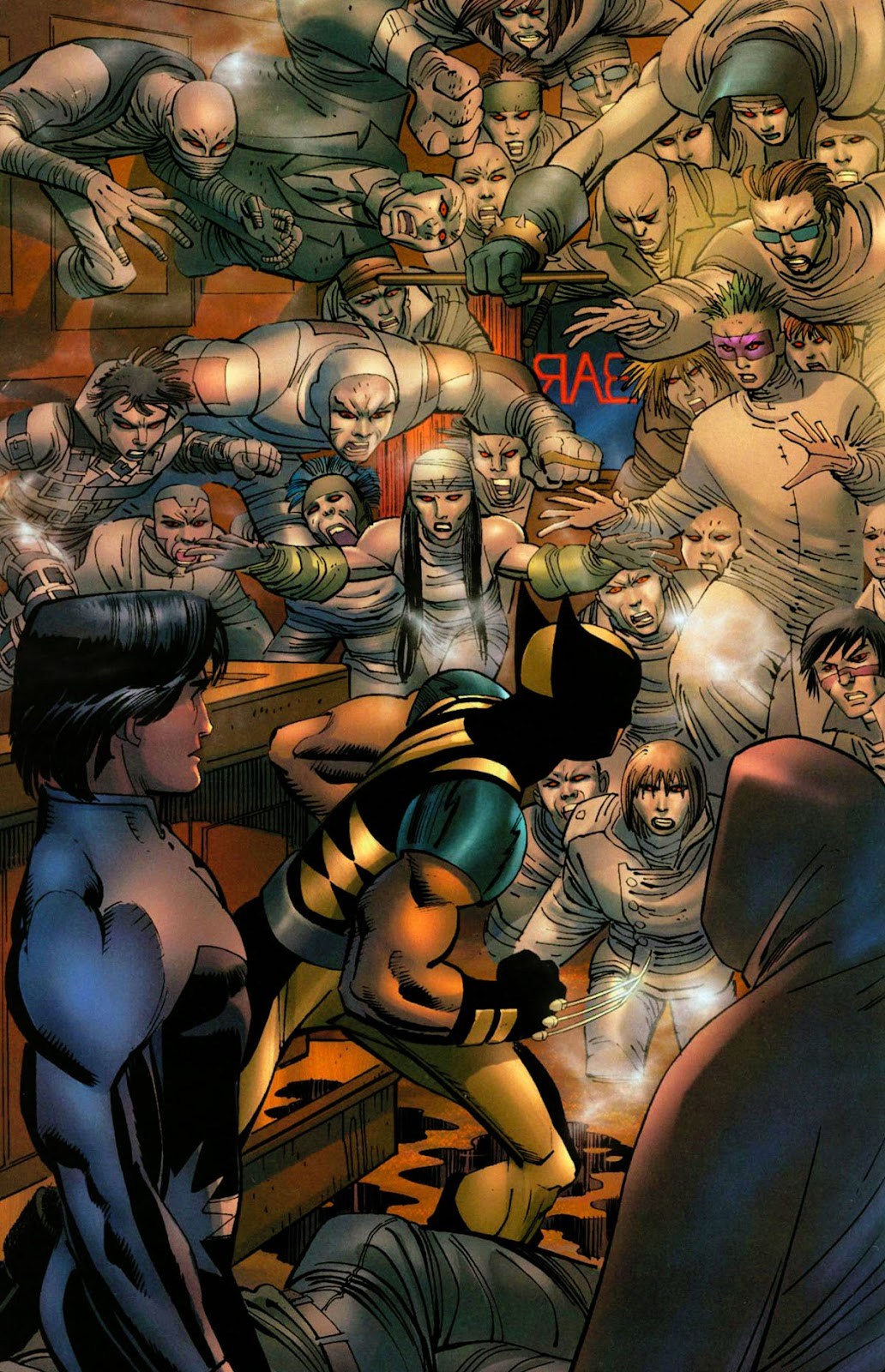 Read online Wolverine (2003) comic -  Issue #28 - 8
