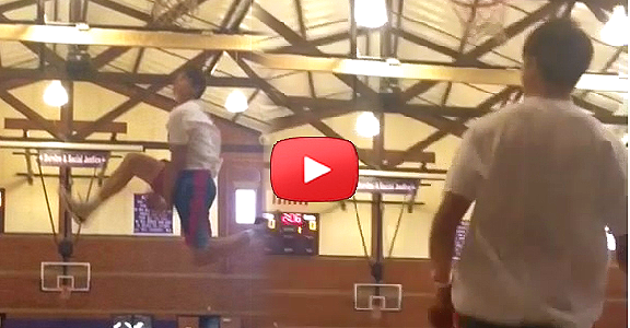 Kobe Paras INSANE Between-The-Legs Dunk (VIDEO)