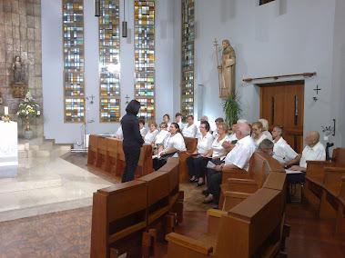 La missa del 16.09.2012 per TV2